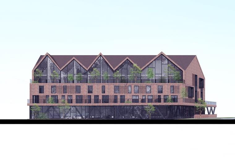 Projekt hotelu na Mazurach, projekt: BXBstudio Bogusław Barnaś