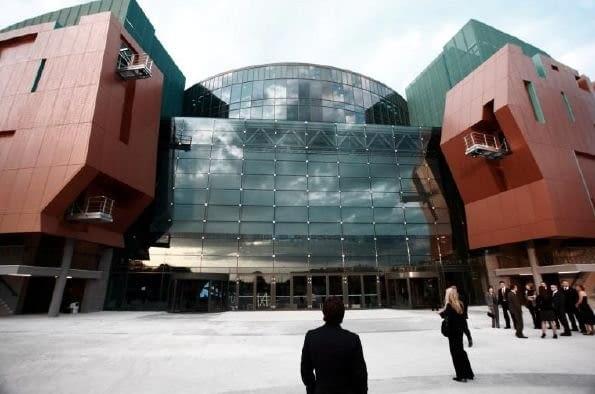 Cuprum Arena w Lubinie, pracownia ADS