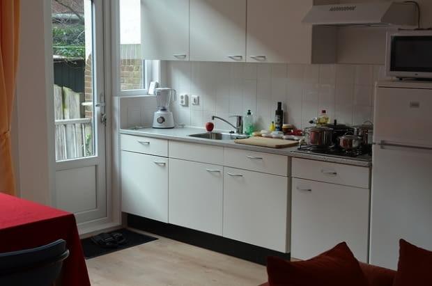 kuchnia, biała kuchnia