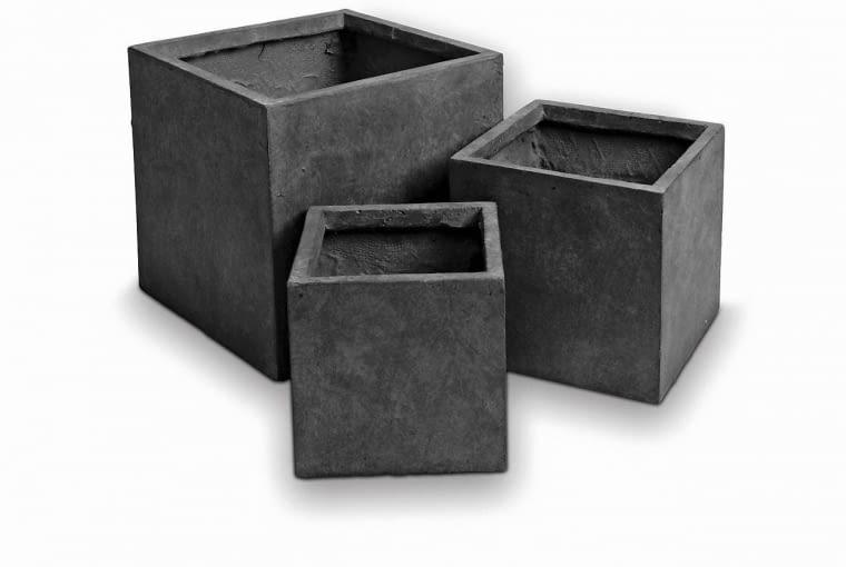 12. zestaw 3 donic z cementu zbrojonego włóknem szklanym, 119 zł, Jula