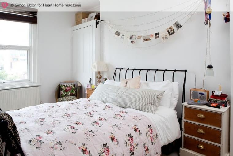 Mieszkanie Jeski Hearne, vintage, sypialnia