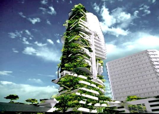 Tower Singapur - ekologiczny wieżowiec