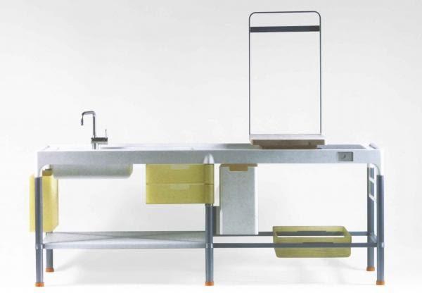 Disintegrated kitchen (Cuisine désintégrée); projekt: bracia Bouroullec