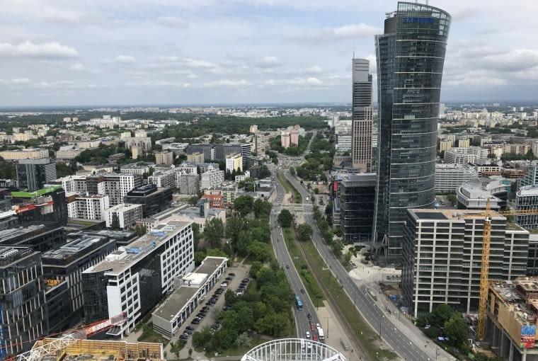 The Warsaw HUB, wieżowiec