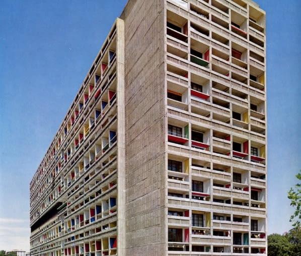 Le Corbusier, Unite d'Habitation, Marsylia, 1952r.