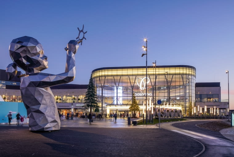 Galeria handlowa Posnania, projekt: RTKL