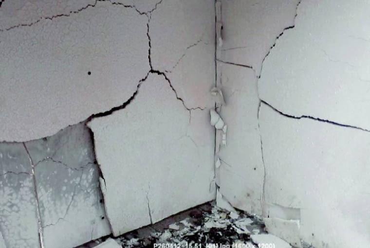 Źle dobrany rodzaj płyt gipsowo-kartonowych może być powodem szybkiego zniszczenia przez ogień
