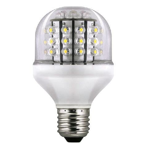 LUCA LED 48 KANLUX, moc: 3 W, gwint E27, 48 LED, barwa: ciepłobiała 2700-3000 K, cena: 85,39 zł