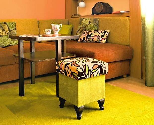 meble pokojowe, siedziska, pufy