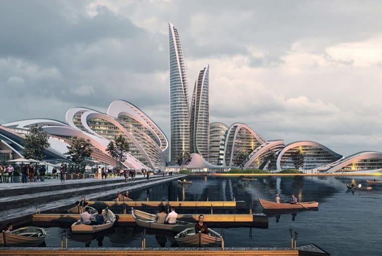 Smart City Rubliowo-Archangielskoje pod Moskwą