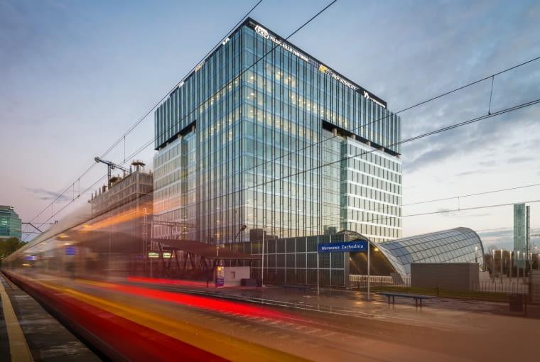 Biurowiec West Station przy Dworcu Zachodnim w Warszawie