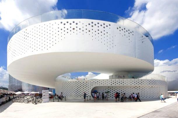 Pawilon Danii na Expo 2010 w Szanghaju, proj. Bjarke Ingels Group