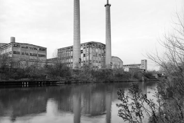 Rodersdorf, VEB Zementwerk 'Rodersdorf', zdj. Wojciech Wilczyk 2005 r. (zdjęcie do jednorazowej publikacji)