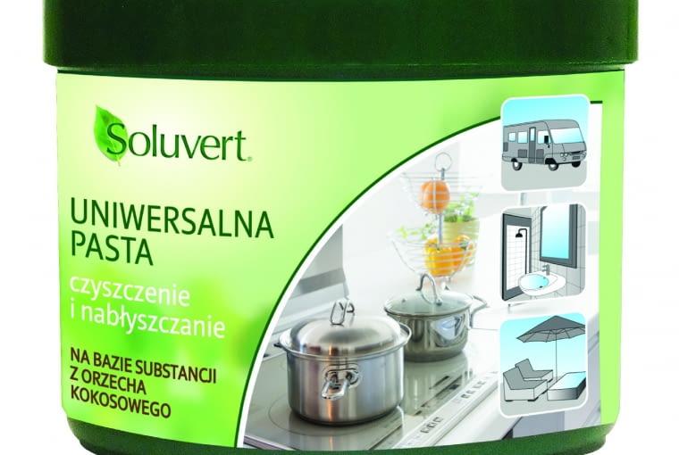 Uniwersalna pasta/STARWAX. Skutecznie czyści, nabłyszcza powierzchnie. Może być stosowana zarówno we wnętrzach: powierzchnie z metalu, inoksu, srebra, miedzi, umywalki, wanny, baterie, jak i na zewnątrz. Cena: ok. 31 zł (375 g), www.starwax.pl