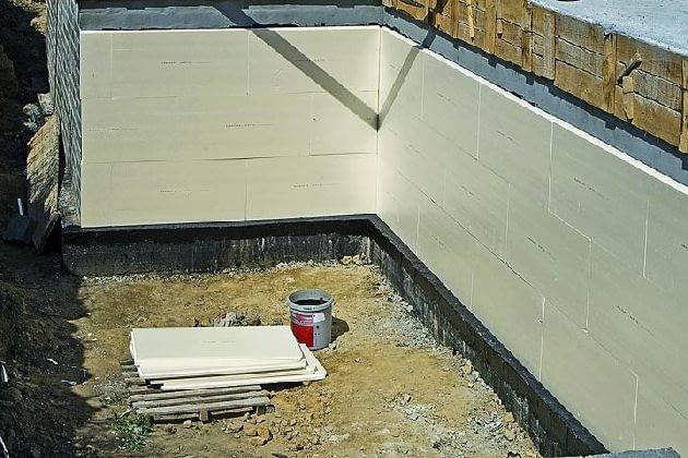 Izolacja termiczna ścian fundamentowych
