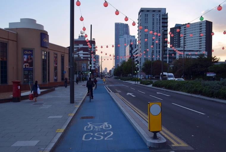 Cycle Superhighway w Londynie