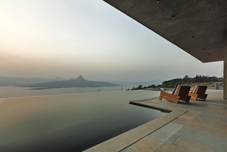 Willa w Indiach, projekt: Khosla Associates