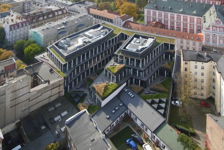 Biurowiec przy ulicy Za Bramką w Poznaniu, projekt Ultra Architects