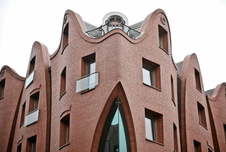 21.01.2012 KRZYWY HOTEL W GDANSKU , FOT. LUKASZ GLOWALA / AGENCJA GAZETA SLOWA KLUCZOWE: KRZYWY HOTEL