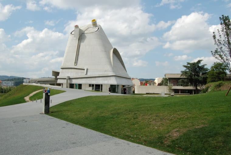 architektura sakralna, le corbusier, kościoł, architektura, Kościół Św Piotra, Firminy, Francja