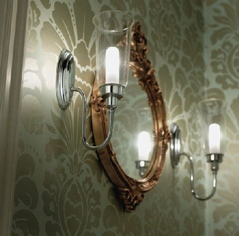 lustro,kinkiety,oświetlenie łazienki