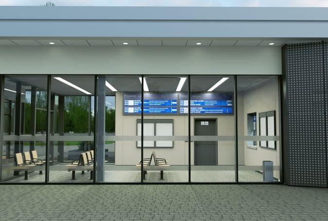 Wizualizacja nowego dworca systemowego w Mławie