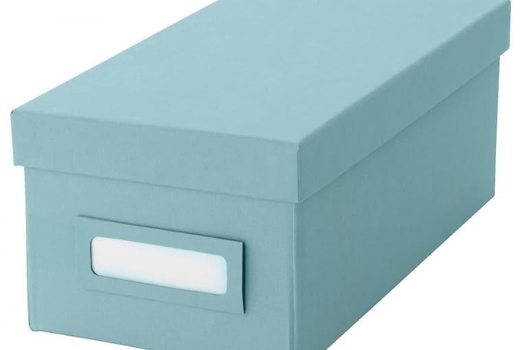 Energia aż kipi: Pudełko, tektura 5,99 zł IKEA