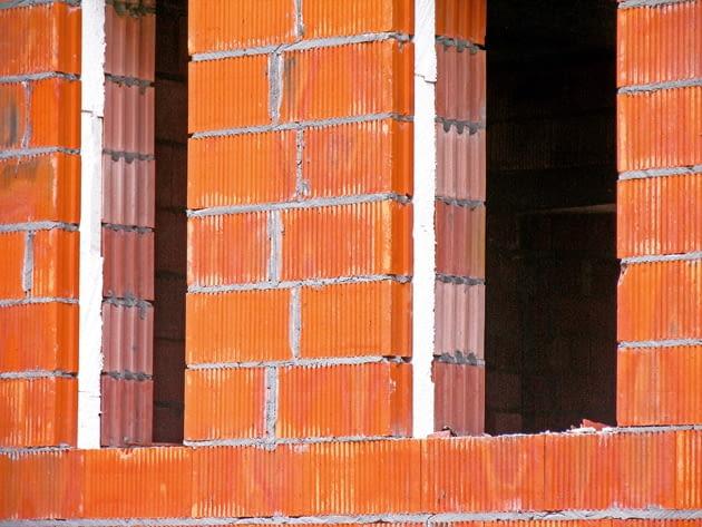 ściany trójwarstwowe, budowa domu, ściany