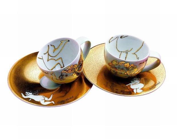 Rosenthal, filiżanki do kawy, porcelana
