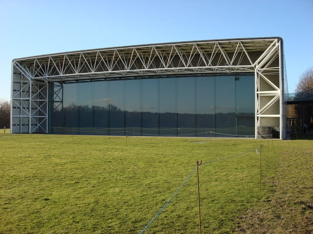 Sainsbury Centre for Visual Arts, proj. Foster and Partners