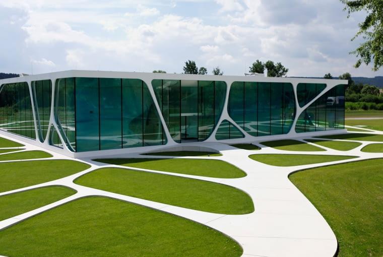 Leonardo Glass Cube, proj. 3deluxe