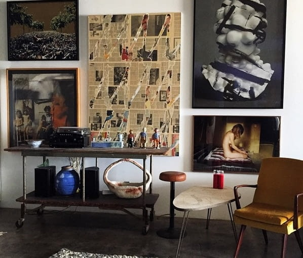Mieszkanie Emily Ratajkowski w Los Angeles.