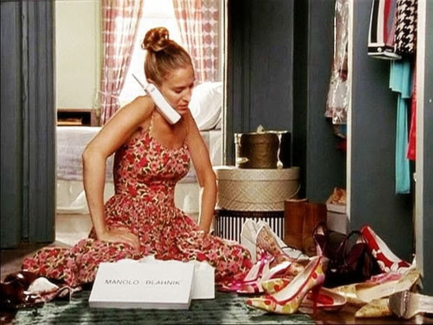 Seks w wielkim mieście, Carrie Bradshw, garderoba, film, serial