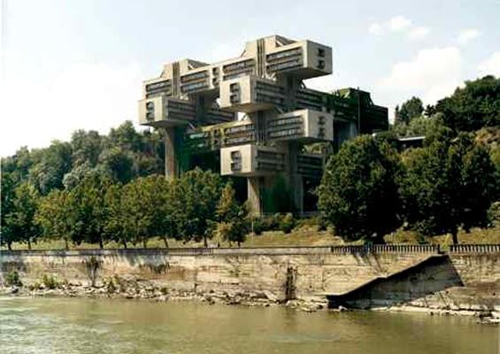 architektura, Rosja, Ukraina, modernizm, biurowiec, budynek, pałac kultury, zabytek, bloki