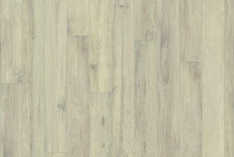 Dąb Knoxville/Egger Klasa ścieralności AC4 format Large (1291 x 246 x 8 mm), czterostronna fuga struktura powierzchni: Vintage (autentyczny efekt hebla) profil: UniFit! Cena: 59,90 zł/m2, www.egger.pl