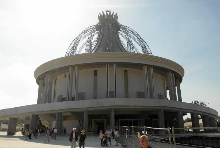 Świątynię można było zobaczyć podczas pikniku Telewizji Trwam i Radia Maryja