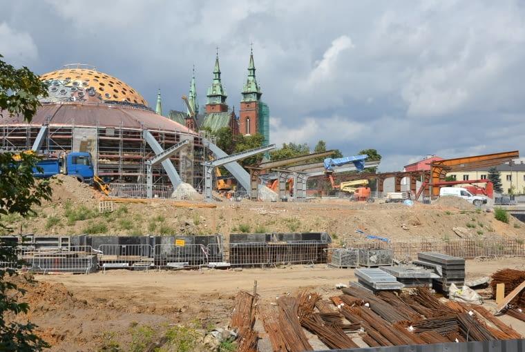Remont dworca PKS w Kielcach.