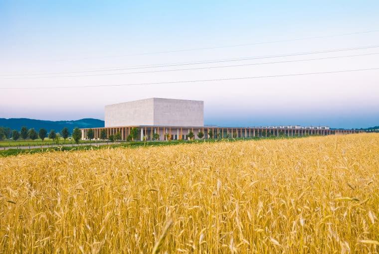 Europejskie Centrum Muzyki Krzysztofa Pendereckiego w Lusławicach, proj. DDJM