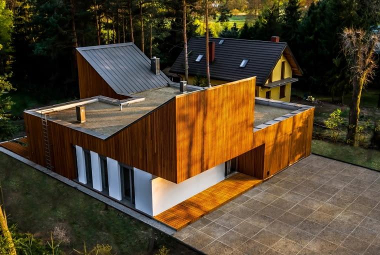 Zwycięzca: budynek jednorodzinny nowy. Dom w Kuźnicy Kiedrzyńskiej (projekt: Grupa Verso Deltoid, realizacja: P.H.U.P. Trio Sergiusz Jackowski)