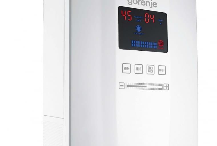 H50DW, ultradźwiękowy, wydajność do 50 m kw., jonizator, czujnik wilgotności, 430 zł, Gorenje