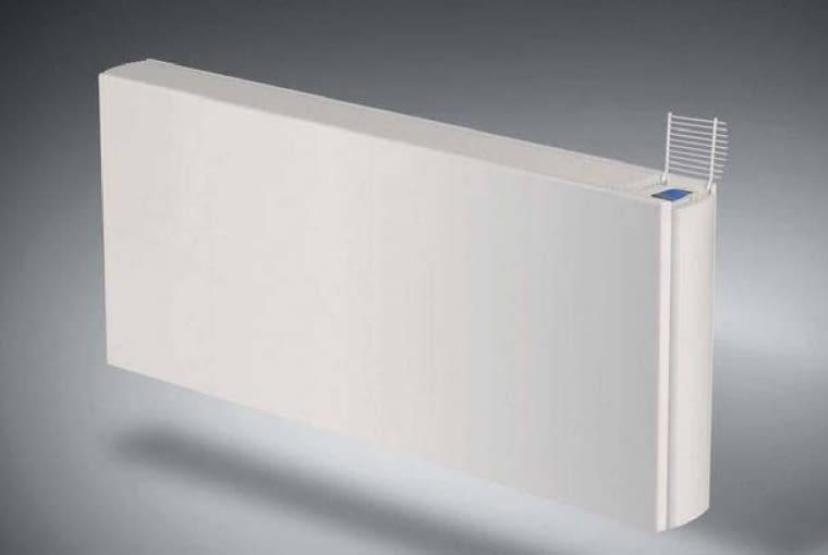 Oprócz klimatyzatorów dwufunkcyjnych typu split od niedawna można kupić grzejniki, które po podłączeniu do specjalnej pompy cieplnej (wytwarzającej gorącą lub bardzo schłodzoną wodę) mogą grzać albo chłodzić pomieszczenie. VIDO, z systemem grzania, wydajność od 1,6 kW, od 1857 zł, Purmo