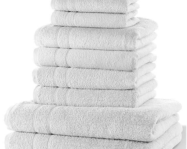 W stylu tego wnętrza: Komplet ręczników, bawełna, 99 zł/10 szt., bonprix.pl