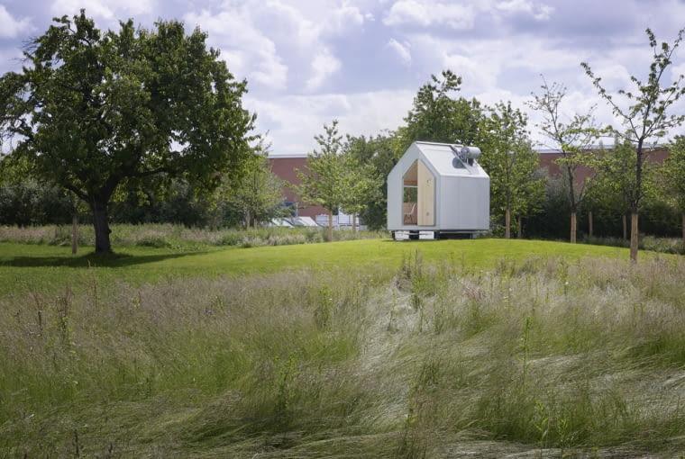 """Jednoosobowy dom """"Diogenes"""" zaprojektowany przez Renzo Piano"""