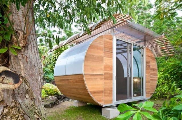 Przenośny dom ekologiczny- Bellomo Architects