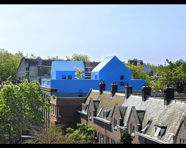 Nadbudowa Didden Village w Rotterdamie, proj. MVRDV
