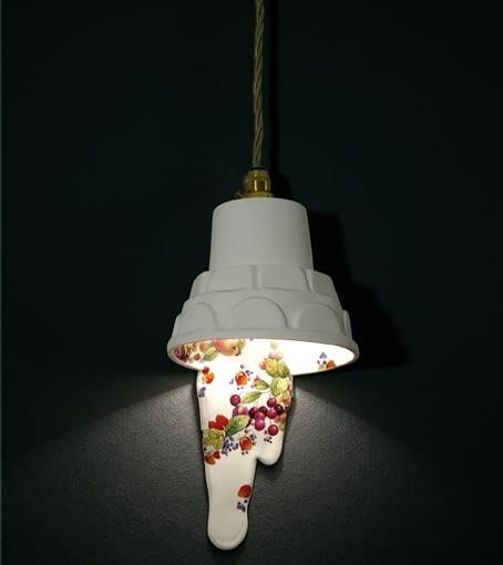 lampa; projekt: Rebecca Wilson