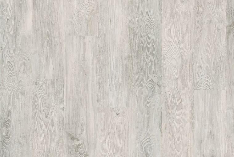 Kasztan japoński biały/Egger/Komfort Klasa ścieralności: AC4 klasa użyteczności: 32 nadaje się na ogrzewanie podłogowe synchroniczna struktura drewna widoczne sęki zapewniające dodatkowe walory estetyczne. Cena: 44,99 zł/m2, www.komfort.pl
