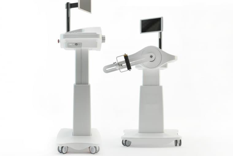 Robot rehabilitacyjny Luna EMG, Egzotech. Projekt: Husarska Design Studio