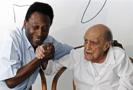 Pele i Niemeyer- dwie ikony brazylijskiej kultury