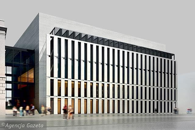 Rozbudowa Biblioteki Raczyńskich w Poznaniu, JEMS Architekci